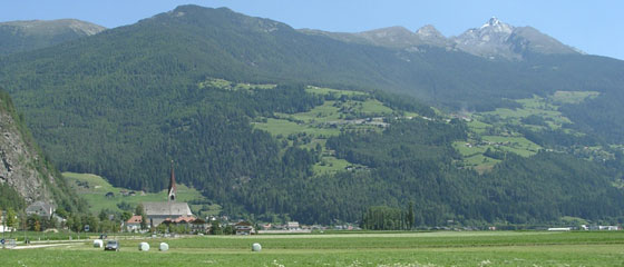 Campo Tures in Val Pusteria